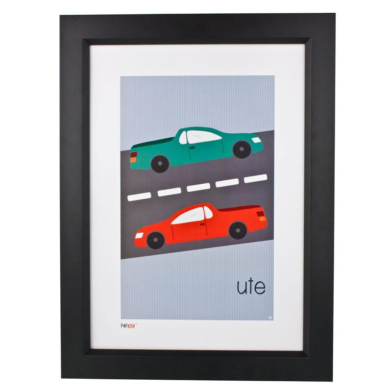 Pint Size Ute Print (A3) | Koop.co.nz