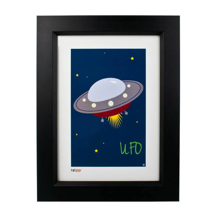 Pint Size UFO Print (A4) | Koop.co.nz
