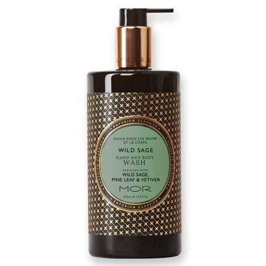 MOR Boutique Emporium Hand & Body Wash (500ml) - Wild Sage | Koop.co.nz