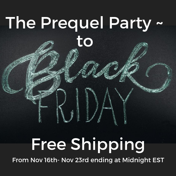 The Black Friday Prequel Party!!