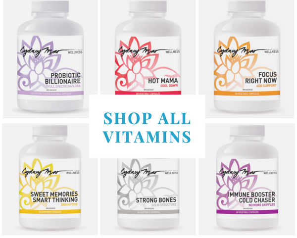 The Entire Cydney Mar Wellness Vitamin Collection