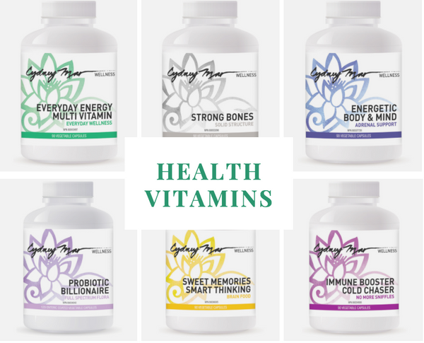 Health Collection of Vitamins