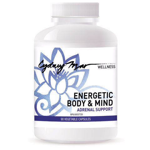 Energetic Body & Mind, Adrenal Support Vitamins 90 veggie caps~ avoid burnout, boost your energy, have mental acuity, deep healing sleep & lower cortisol.