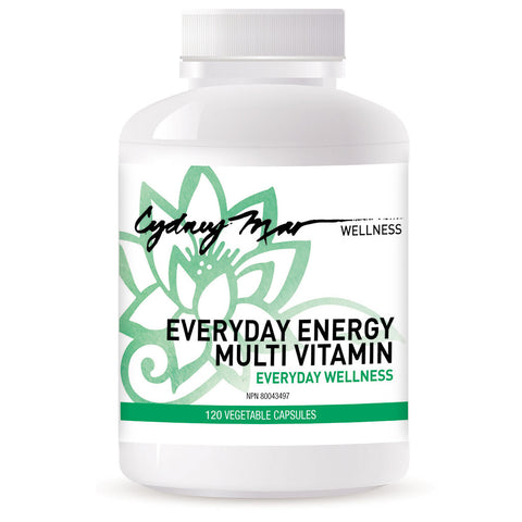 Everyday Multi Vitamin ~ 120 Veggie Caps, Superb B Complex in therapeutic dosage to build solid health, repair nerves, boost energy. Essential.