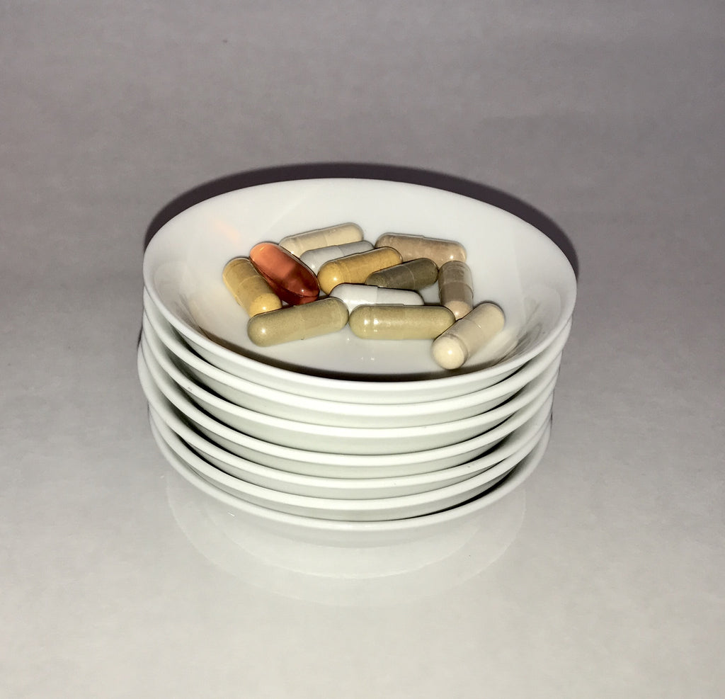Small Ceramic Vitamin Bowls