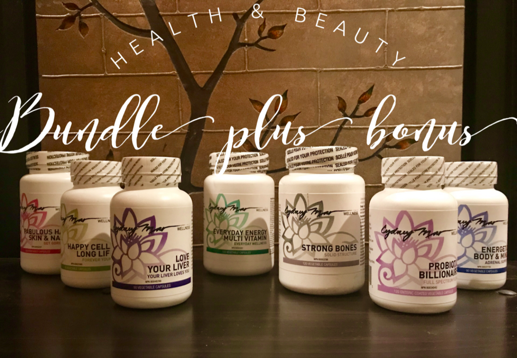 Health & Beauty Power Pack of 7 Incredible Vitamin Formulations