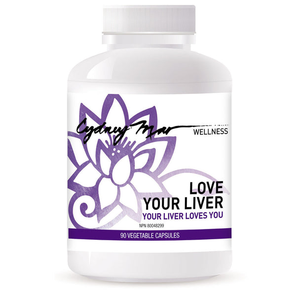 Love Your Liver Vitamins 90 gluten-free veggie caps made in Canada is an incredible formulation to detox the liver allowing it to regulate the hormones, digestive system & regenerate tissue.