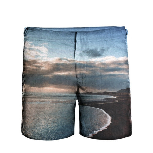 BEACH - Frank Anthony Swimwear Mens Shorts Hydrophobic Nanotechnology Fast Drying Swimwear