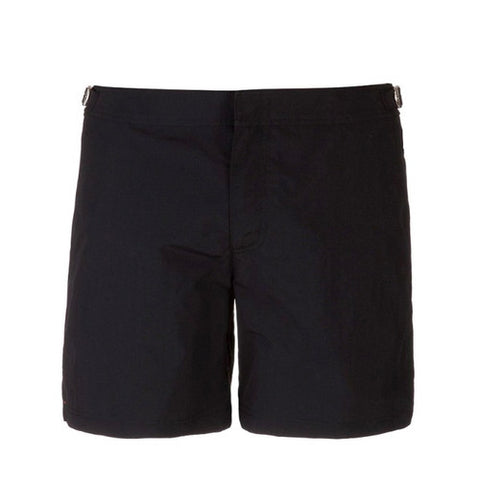 BLACK - Frank Anthony Swimwear Mens Shorts Hydrophobic Nanotechnology Fast Drying Swimwear