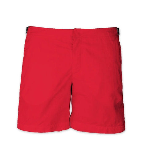 RED - Frank Anthony Swimwear Mens Shorts Hydrophobic Nanotechnology Fast Drying Swimwear