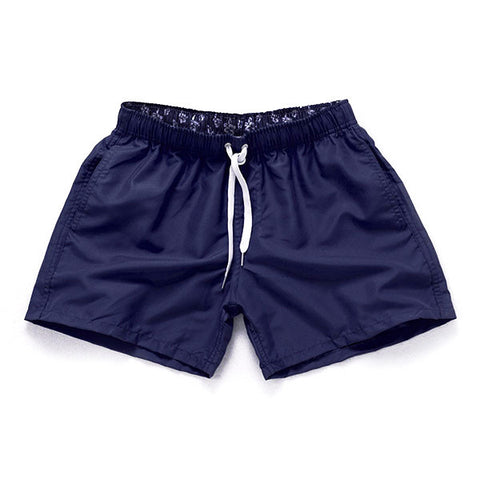 NAVY BLUE - Frank Anthony Swimwear Mens Shorts Hydrophobic Nanotechnology Fast Drying Swimwear