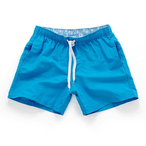 BLUE - Frank Anthony Swimwear Mens Shorts Hydrophobic Nanotechnology Fast Drying Swimwear