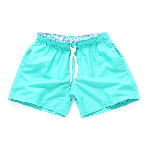 CYAN - Frank Anthony Swimwear Mens Shorts Hydrophobic Nanotechnology Fast Drying Swimwear