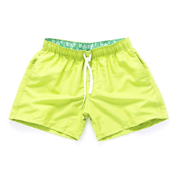 LIME - Frank Anthony Swimwear Mens Shorts Hydrophobic Nanotechnology Fast Drying Swimwear