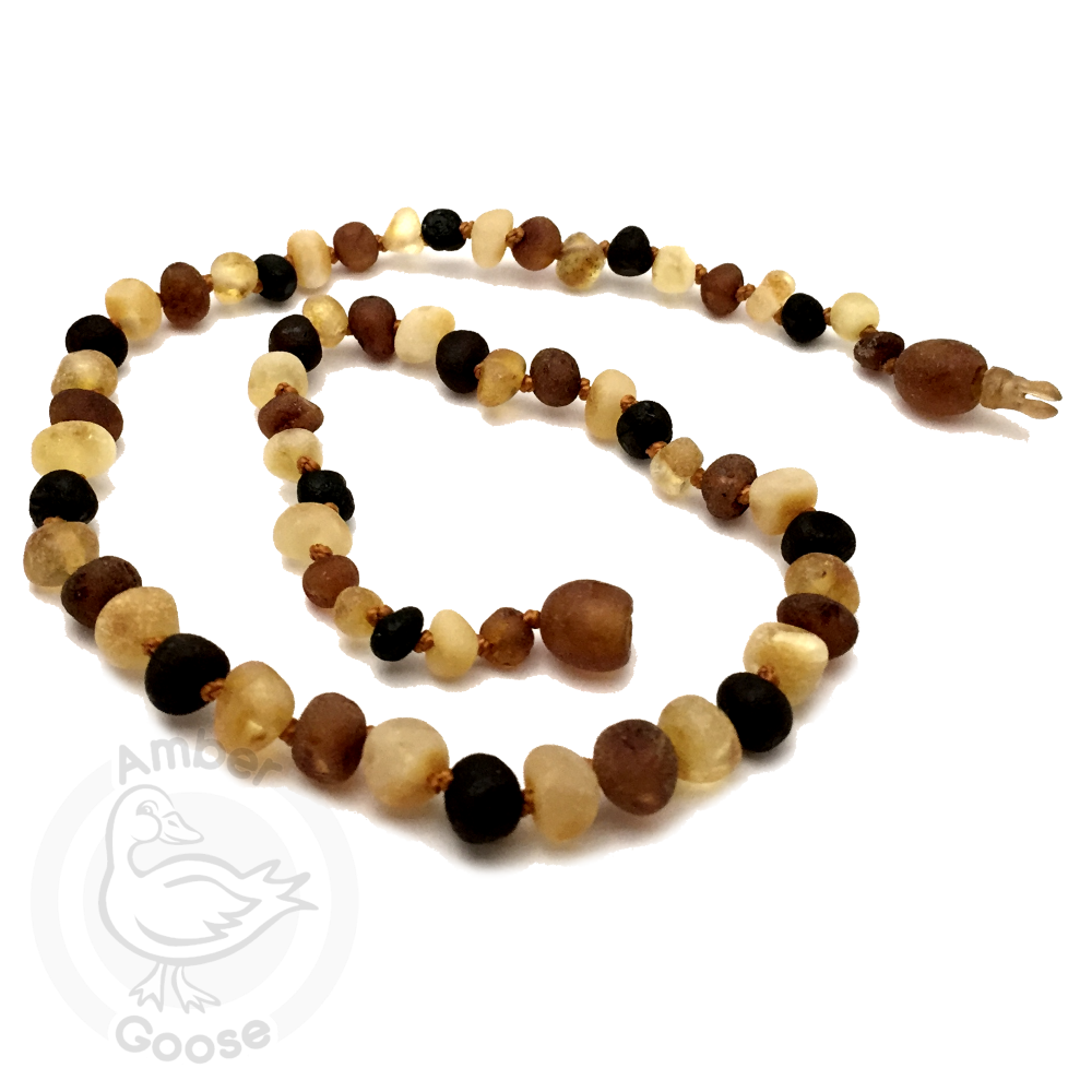 Baltic Unpolished Baby Amber Necklace