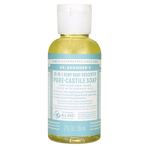 Dr. Bronner's Pure Castile Liquid Soap Baby Unscented