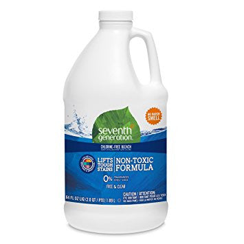 Seventh Generation Laundry Products Bleach Non Chlorine 64 Oz