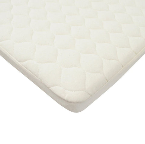 American Baby Organic Bassinet Waterproof Quilted Mattress Pad Cover