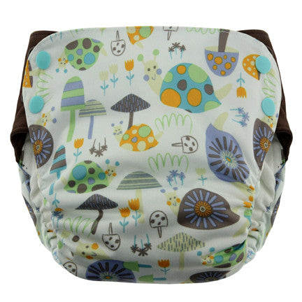 Blueberry Side Snap Simplex AIO Diaper