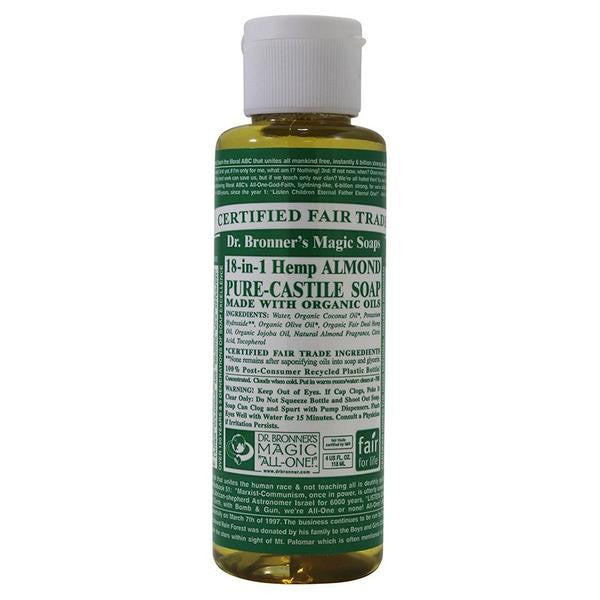 Dr. Bronner's Pure Castile Liquid Soap Almond