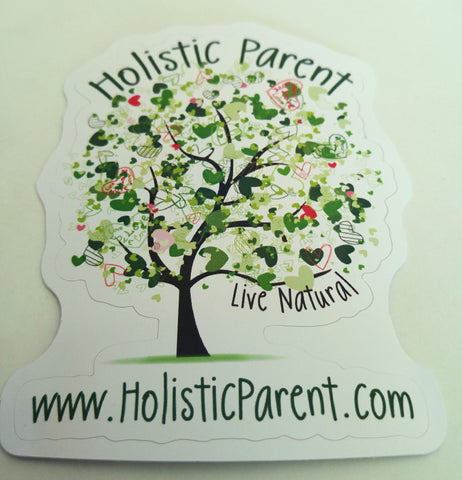 Holistic Parent Decals