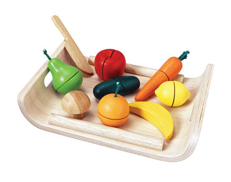 Plan Toys Assorted Fruits & Vegetables