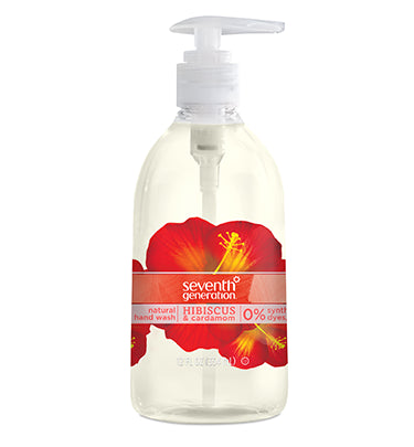 Seventh Generation Hand Washes 12 Oz