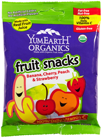 Yum Earth Organic Fruit Snacks Original