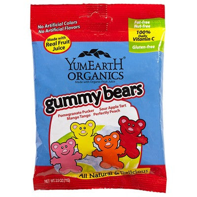 Yum Earth Organic Gummy Bears