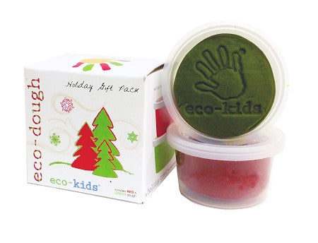 Eco-kids Eco-dough Natural Modeling Clay Holiday Gift