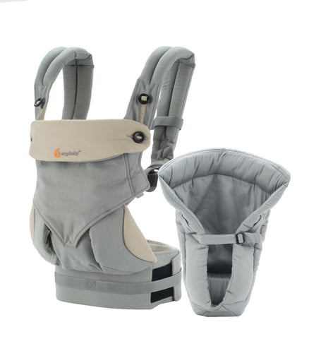 ERGObaby 360 Four Position Baby Carrier With Infant Insert