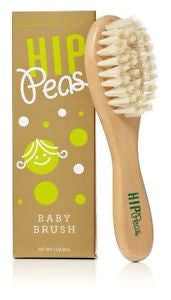 Hip Peas Wooden Baby Brush