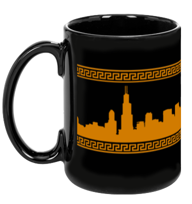 Classical Skyline - Chicago (15oz. Coffee Mug)