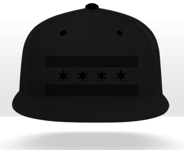 Monochrome Greek-Chicago Snapback