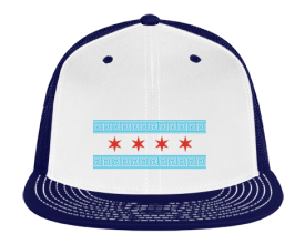 Greek Chicago Trucker Snapback