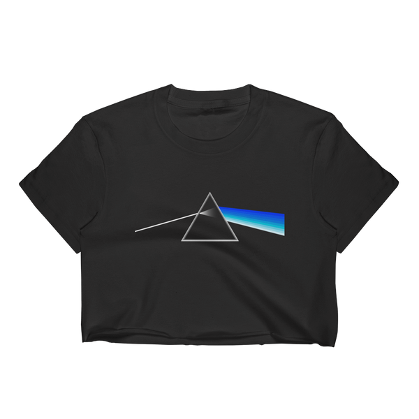 Greek Side of the Moon (Women's Crop Top)