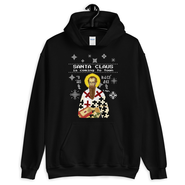 Santa Claus is Coming to Town (Ugly Hoodie)
