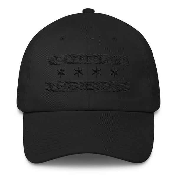 Greek-Chicago Monochrome Cap