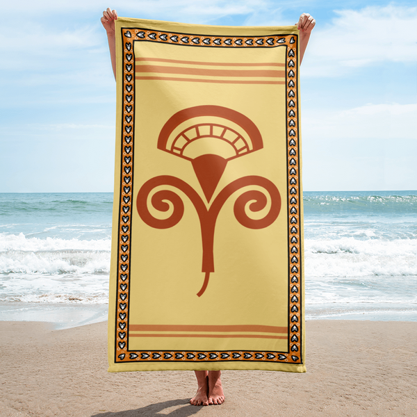 Minos One (Beach Towel)