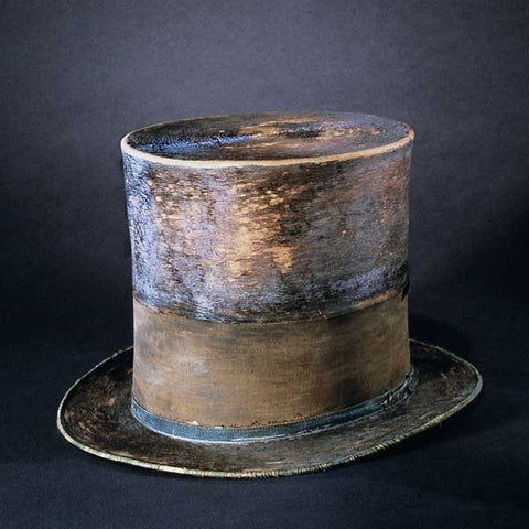 Abraham Lincoln's Top Hat on display at the Smithsonian Institute in Washington DC
