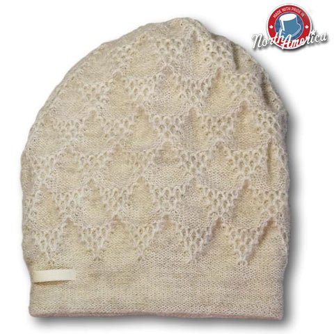 Fan Knit Toque