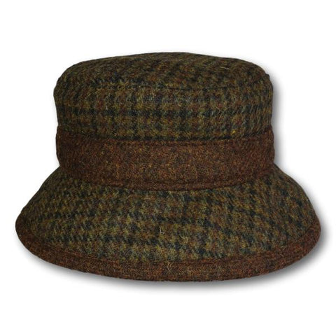Harris Tweed Bucket Hat