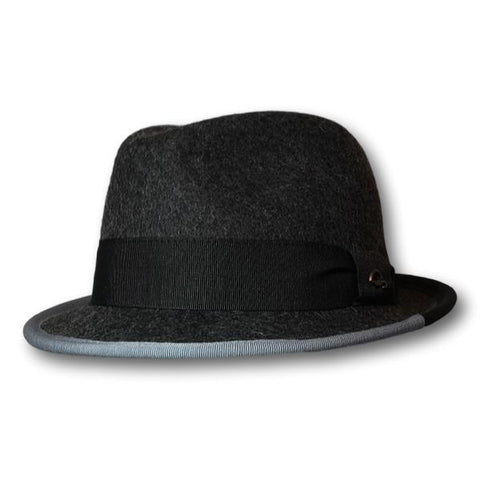 Two-Tone Trim Fedora