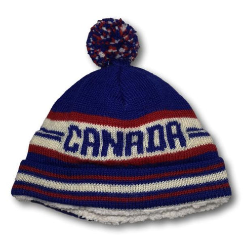 Retro Canadiana Knit Toque