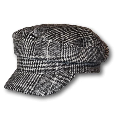 Plaid Fishermen Cap