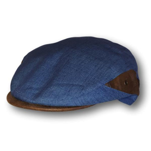 Two Tone Linen Ivy Cap