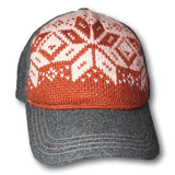 Patterned Front Baseball Cap