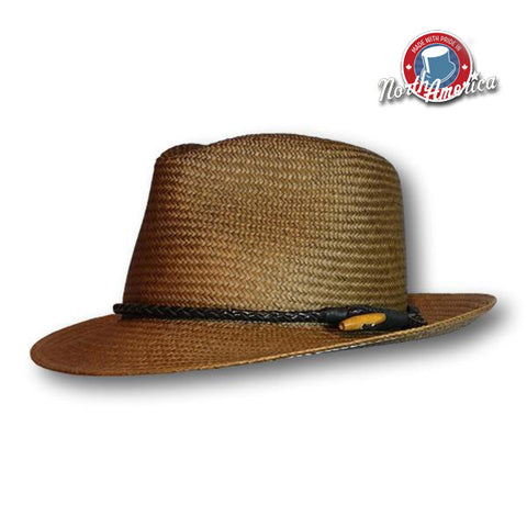 Braided Band Panama Fedora