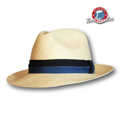 Colour Block Band Fedora
