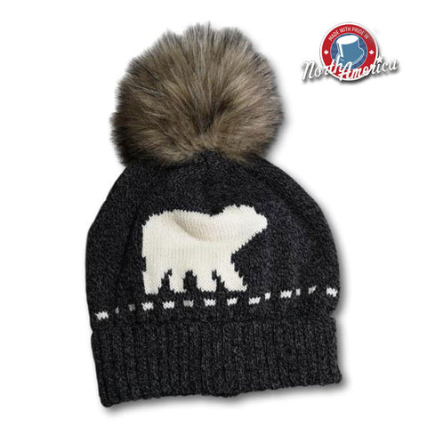 Knit Bear Toque